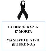 Democrazia è morta ma noi no